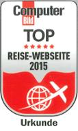 Computer-Bild Test Reise-Weibseiten 2015